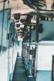 Εσωτερικό μέσα στο ινδικό τραίνο ύπνου Στοκ Εικόνες