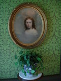 Εσωτερικό μεγάρων Pittock Στοκ Φωτογραφίες
