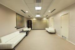 Εσωτερικό μιας αίθουσας αναμονής Στοκ φωτογραφία με δικαίωμα ελεύθερης χρήσης