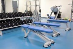 Εσωτερικό μιας σύγχρονης γυμναστικής Στοκ εικόνα με δικαίωμα ελεύθερης χρήσης