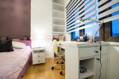 Εσωτερικό μιας σύγχρονης κρεβατοκάμαρας των παιδιών Στοκ Εικόνα