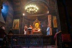 Εσωτερικό μοναστήρι khor-Virap Στοκ εικόνες με δικαίωμα ελεύθερης χρήσης