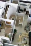 εσωτερικό μοντέλο σπιτιών Στοκ Εικόνες