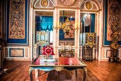 Εσωτερικό μουσείων του Λούβρου στοκ φωτογραφίες