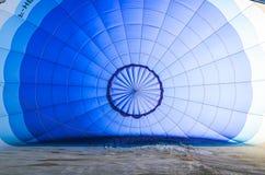 Εσωτερικό μπαλόνι πριν από την απογείωση Στοκ Εικόνες