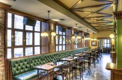 εσωτερικό μπαρ καφέ ράβδων στοκ εικόνα με δικαίωμα ελεύθερης χρήσης