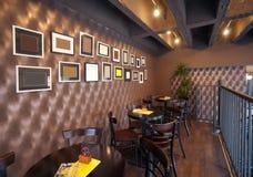 Εσωτερικό μπαρ στοκ εικόνες