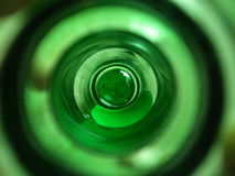 Εσωτερικό μπουκάλι Στοκ Εικόνα