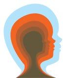 Εσωτερικό μυαλό ενός παιδιού Στοκ Εικόνες