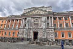 Εσωτερικό ναυπηγείο του ST Michael Castle (1801) στη Αγία Πετρούπολη, Ρωσία Στοκ Φωτογραφία