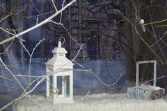 Εσωτερικό ντεκόρ Χριστουγέννων στοκ εικόνες