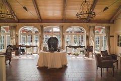 Εσωτερικό ξενοδοχείο Villino, Lindau Στοκ Εικόνα