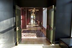 Εσωτερικό ξενοδοχείων εισόδων εστιατορίων Στοκ Φωτογραφίες