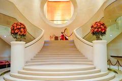 Εσωτερικό ξενοδοχείων λιμενικών μεγάλο Χονγκ Κονγκ Στοκ εικόνες με δικαίωμα ελεύθερης χρήσης