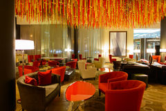 Εσωτερικό ξενοδοχείων Hilton Στοκ φωτογραφία με δικαίωμα ελεύθερης χρήσης