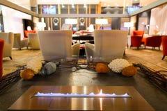 Εσωτερικό ξενοδοχείων Hilton Στοκ Φωτογραφία