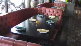 Εσωτερικό οικογενειακών εστιατορίων φιλμ μικρού μήκους