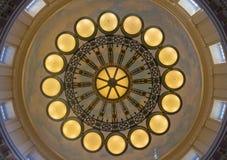 Εσωτερικό οικοδόμησης κρατικού Capitol της Γιούτα Στοκ Εικόνες