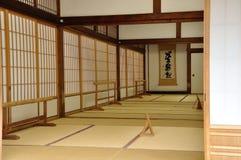 Εσωτερικό οικοδόμησης Tenryuji ναών του Κιότο Στοκ φωτογραφία με δικαίωμα ελεύθερης χρήσης