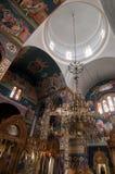 Εσωτερικό Ορθόδοξων Εκκλησιών Στοκ Εικόνες
