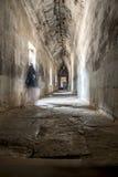 Εσωτερικό πέρασμα σε Angkor Wat Στοκ Εικόνες