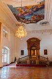 εσωτερικό παλάτι Σάλτζμπουργκ της Αυστρίας Στοκ φωτογραφία με δικαίωμα ελεύθερης χρήσης