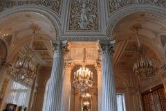 εσωτερικό παλάτι Στοκ εικόνες με δικαίωμα ελεύθερης χρήσης
