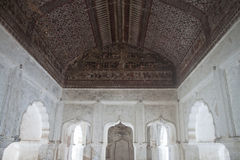 εσωτερικό παλάτι orchha Στοκ Εικόνες