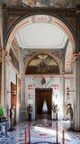 εσωτερικό παλάτι s ιπποτών Στοκ εικόνα με δικαίωμα ελεύθερης χρήσης