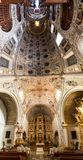 Εσωτερικό πανόραμα εκκλησιών Oaxaca Στοκ Εικόνες
