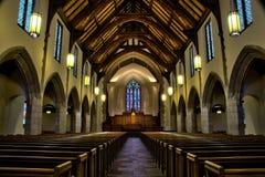 Εσωτερικό παρεκκλησιών Στοκ Φωτογραφίες