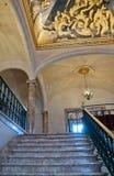 Εσωτερικό Παλάου Museu Μάρτιος Στοκ Εικόνα