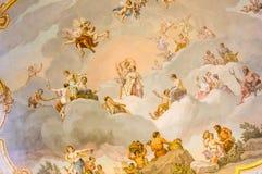 εσωτερικό παλάτι της Catherine Στοκ Φωτογραφίες