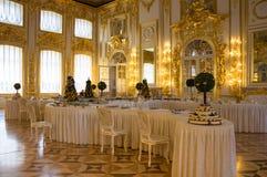 εσωτερικό παλάτι της Catherine Στοκ Φωτογραφία