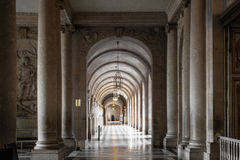 Εσωτερικό παλάτι των Βερσαλλιών Στοκ φωτογραφία με δικαίωμα ελεύθερης χρήσης