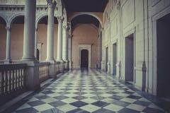 Εσωτερικό παλάτι, Alcazar de Τολέδο, Ισπανία Στοκ Εικόνα
