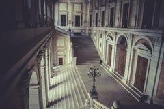 Εσωτερικό παλάτι, Alcazar de Τολέδο, Ισπανία Στοκ εικόνες με δικαίωμα ελεύθερης χρήσης