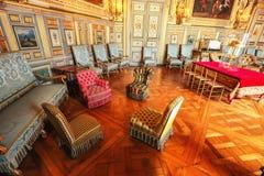 Εσωτερικό παλατιών του Παρισιού, Γαλλία, Βερσαλλίες Στοκ Εικόνες
