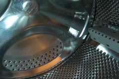εσωτερικό πλύσιμο μηχανών Στοκ Εικόνα