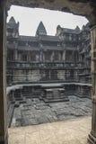 Εσωτερικό προαύλιο σε Angkor Wat Στοκ εικόνα με δικαίωμα ελεύθερης χρήσης