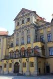 Εσωτερικό προαύλιο του κάστρου Nyasvizh Στοκ φωτογραφία με δικαίωμα ελεύθερης χρήσης