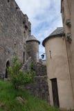 Εσωτερικό προαύλιο Eilean Donan Castle, Σκωτία Στοκ εικόνα με δικαίωμα ελεύθερης χρήσης