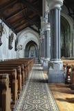 Εσωτερικό Ρωμαιοκαθολικών εκκλησιών Αγίου Πάτρικ Στοκ Εικόνες