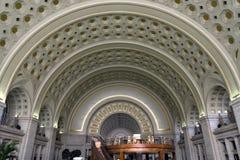 Εσωτερικό σταθμών ένωσης του Washington DC στοκ φωτογραφία με δικαίωμα ελεύθερης χρήσης