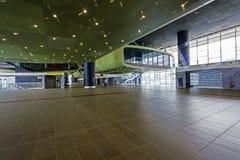 Εσωτερικό σταθμών τρένου ραγών Tiburtina Στοκ Φωτογραφίες