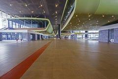 Εσωτερικό σταθμών τρένου ραγών Tiburtina Στοκ Εικόνες