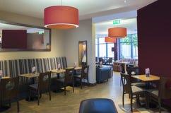 Εσωτερικό στο εστιατόριο ξενοδοχείων Στοκ εικόνα με δικαίωμα ελεύθερης χρήσης