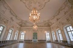 Εσωτερικό στο παλάτι Rundale Στοκ Εικόνες