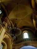 Εσωτερικό σχέδιο ενός ανώτατου ορίου καθεδρικών ναών στοκ φωτογραφία