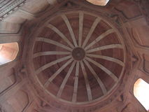Εσωτερικό σχέδιο αρχιτεκτονικής του μνημείου sikri Fatehpur Στοκ φωτογραφία με δικαίωμα ελεύθερης χρήσης